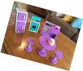 Kidkraft Wooden Barbie Doll Furniture Kitchen Lighted Stove