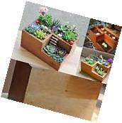 Easydeal Wooden Garden Window Box Trough Planter Succulent