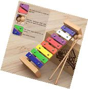 Wooden Xylophone for Kids Toy Sticks Instrument Children