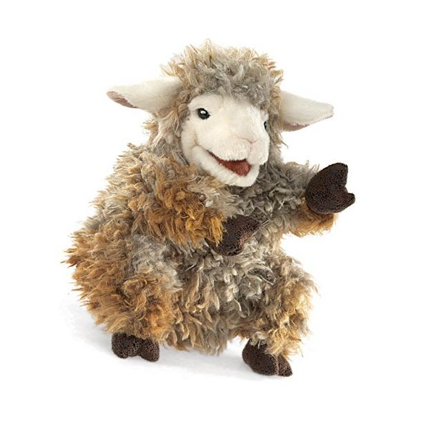 Folkmanis Woolly Lamb Hand Puppet New