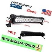 22 inch LED WORK LIGHT BAR SPOT FLOOD COMBO SUV UTE ATV