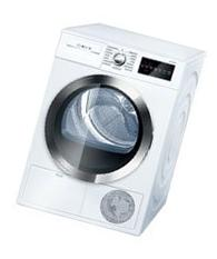 Bosch WTG86402UC800 4.0 Cu. Ft. White Stackable Electric Dryer - Energy Star