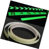 10mm x 1m Glow In The Dark Tape Safety Stage Self-adhesive