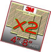 X2 3M 300LSE Double Sided - SUPER STICKY HEAVY DUTY SHEET OF