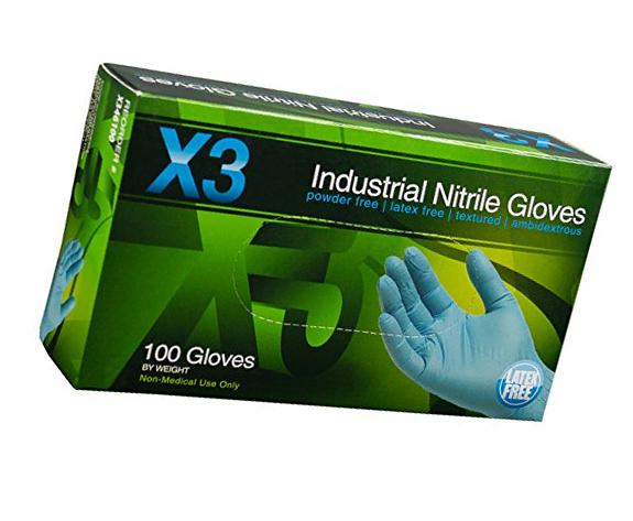 Xtreme X3 Industrial Nitrile Gloves Extra Large