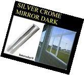 "24"" x10' Home Window Tint Silver/Black Film Crome Mirror"