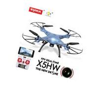 Syma X5HW FPV 4CH RC Quadcopter Drone with HD Wifi Camera