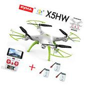 Syma X5HW RC Quadcopter Drone with HD Wifi Camera Hover
