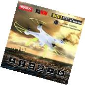 SYMA X5HW Wifi FPV 2.0MP HD Camera RC Quadcopter Drone White