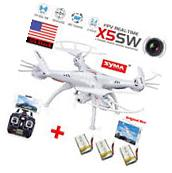 SYMA X5SW WiFi FPV 2.4G 4CH RC Quadcopter Drone 2MP HD