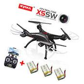 Syma X5SW WIFI FPV RC Quadcopter Drone 2.4Ghz 6Axis With