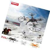 SYMA X8C 2.4G 4CH 6Axis Gyro RC Quadcopter RTF Drone 2.0MP Camera Black US N2J6