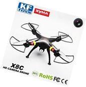 Syma X8C 2.4Ghz 6-Axis Gyro RC Quadcopter Drone UAV RTF UFO