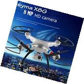 Syma X8G 2.4G 6 Axis Gyro 4-CH Headless RC Quadcopter with a
