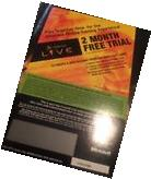 Original Xbox Live 2 Month Free Trial Expired Card Collector