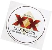 DOS EQUIS XX Logo STICKER decal craft beer brewing brewery