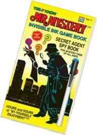 YES & Know Mr. Mystery Secret Agent Spy - Invisble Ink Game