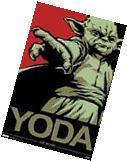 YODA Poster - Star Wars Art Full Size 24x36 Print ~ Yoda The