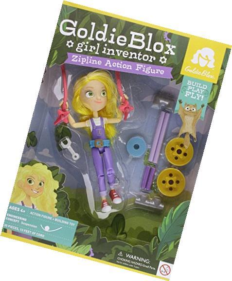 Goldie Blox Zipline Action Figure