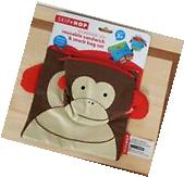 NEW Skip Hop Zoo Reusable Sandwich and Snack Bag Set  Monkey