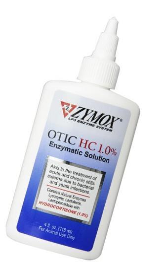 Pet King Brand Zymox Otic Enzymatic Solution for Pet Ears 1.