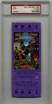 01/25/1998 Super Bowl XXXII Full Game Ticket Broncos Graded