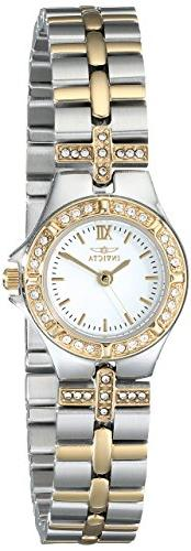 Invicta Women's 0133 Wildflower Collection 18k Gold-Plated