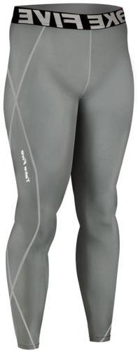 New 019 Skin Tights Compression Leggings Base Layer Grey