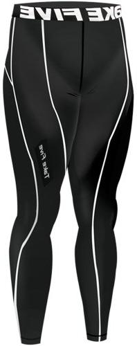 New 025 Winter Warm Skin Tights Compression Base Layer Black