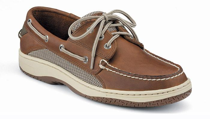 Sperry 0799320 Top Sider Billfish Boat Shoe Dark Tan - Size