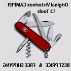 1.3613 VICTORINOX SWISS ARMY CAMPER RED POCKET KNIFE 13