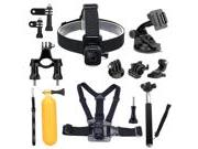 Luxebell 9-in-1 Basic Common Accessories for Gopro Hero 4,