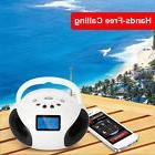 KOCASO 3 in 1 LCD Bluetooth Speaker FM Radio Alarm Clock