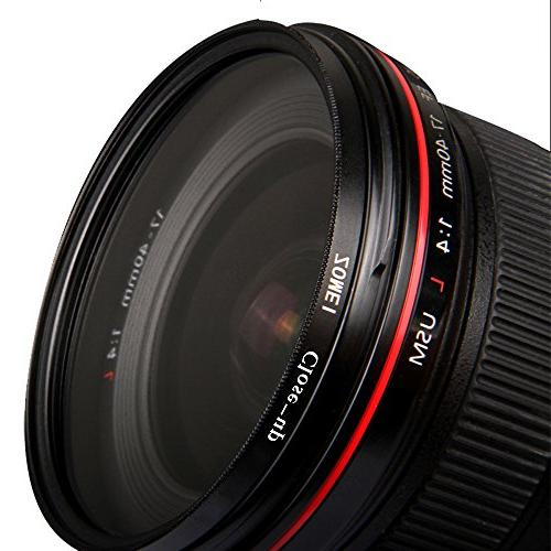67MM +2 Close-Up Macro Filter Set for Canon Nikon Sony