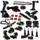 15 in 1 Accessories Kit  for Gopro Hero 4 Black and Silver