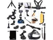 Luxebell 14-in-1 Accessories Bundle Kit for Sony Action Cam