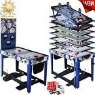 """MD Sports 48"""" 3-In-1 Multi Game Combo Table Foosball Pool"""