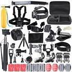 50 in 1 Pole Head Chest Mount Strap GoPro Hero 2 3 4 Camera