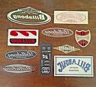 10 Billabong Sticker Lot Surf and Sport Stickers Set