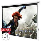 100'' 16:9 Home Movie Electric Projection Screen Pull