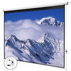 100''Electric Pull Down Projection 16:9 White Screen
