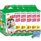 100 Prints Fujifilm instax Mini Film w Cloth, 25 50s 7s 8 9