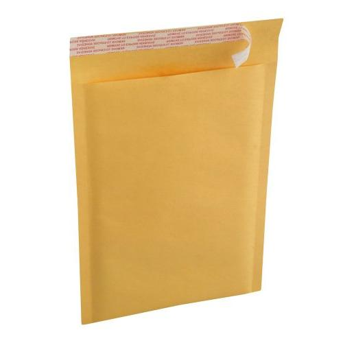20 EcoSwift Size #0 6 x 10 Kraft Bubble Mailers Self Sealing