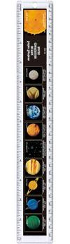 Safari 100319 Solar System Ruler- Pack of 12