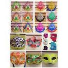 12 random Mardi Gras Costume Party Masks Masquerade Cosplay