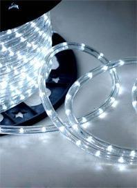 """CBconcept® Cool White 18 FT 110V-120V 2-Wire 1/2"""" LED Rope"""