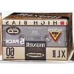 Maxell 139858 60-Minute High Bias Standard Cassette Audio