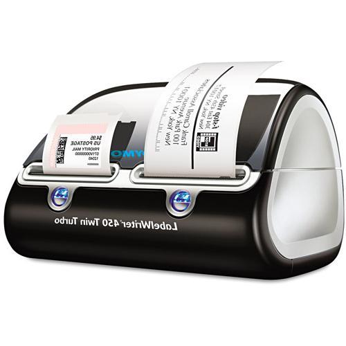 DYMO 1752266 LabelWriter Twin Turbo Printer- 71 Labels/Min-