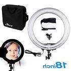 """Neewer Camera 18"""" Diameter 600w  Dimmable Ring Fluorescent"""