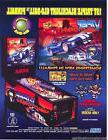 Sega 1998 VIPER NIGHT DRIVIN Original NOS Flipper Game